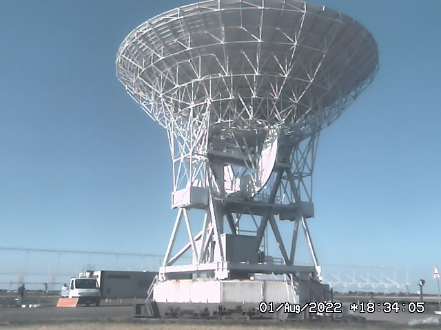 Webcam Radiotelescopi - Medicina